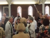 First service in the refurbished church - 23 September 2012